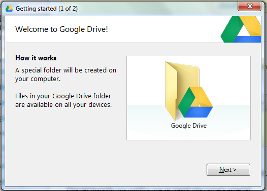 Carpeta Google Drive