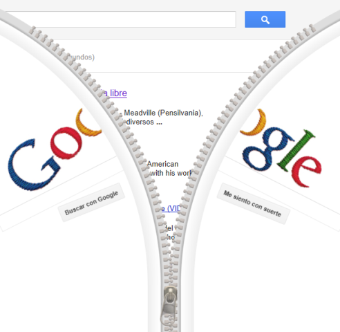 Google, el cierre y Gideon Sundback