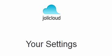 Jolicloud ahora como almacenamiento en la nube.