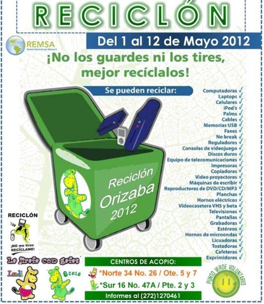 Reciclón Orizaba