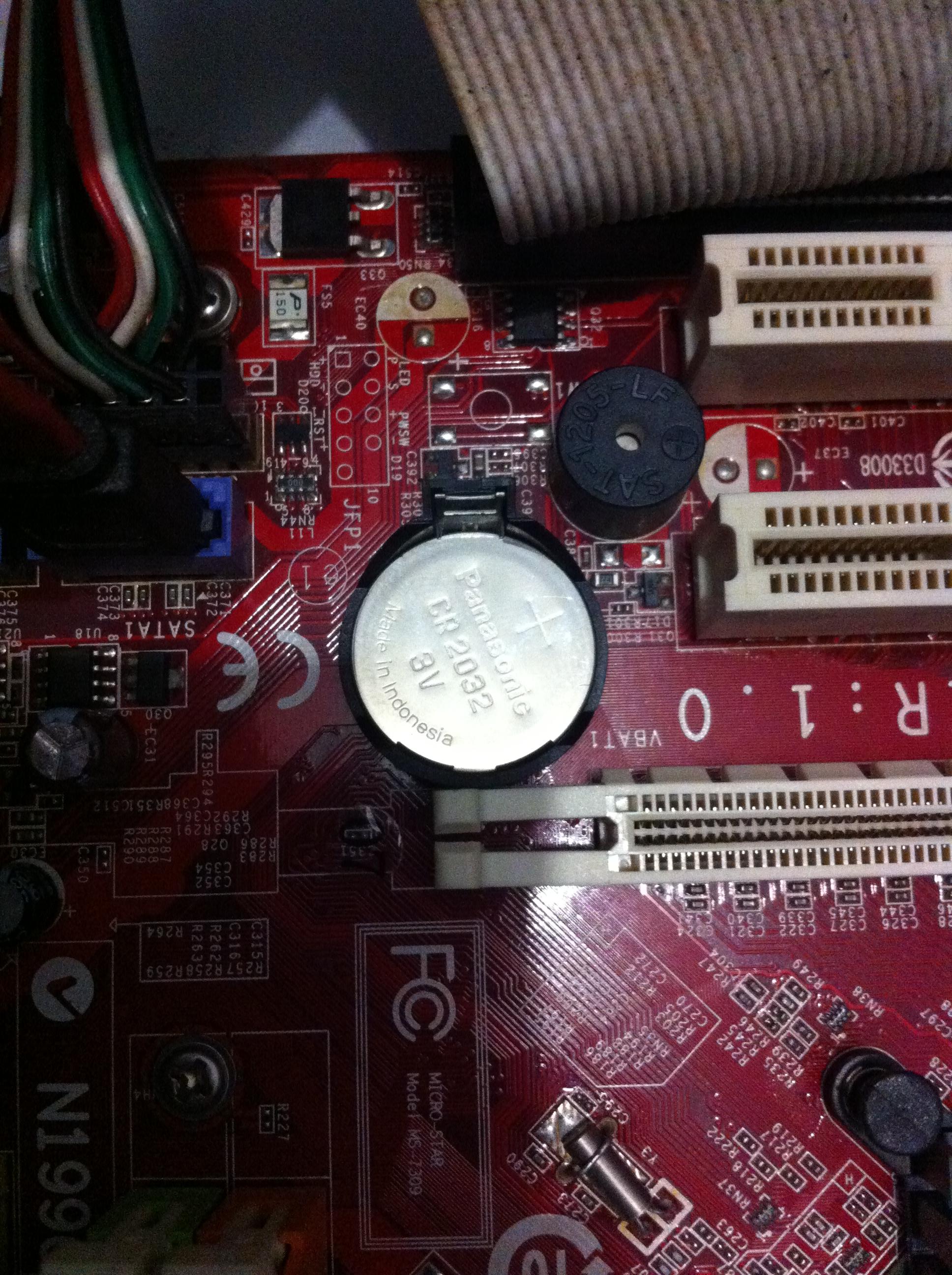 Pila de reloj para CPU